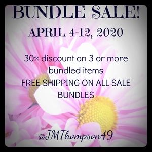 30% Discount on 3 or more items 🌸🌼🏵
